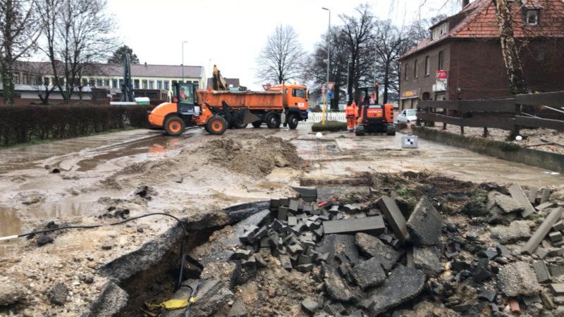 Ausnahmezustand wegen Gasleck (Foto: SAT.1 NRW)