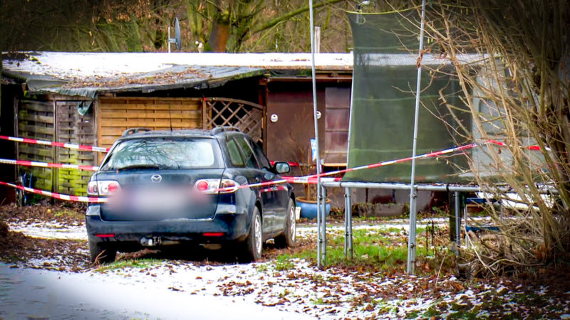Erneute Durchsuchungen in Lügde (Foto: SAT.1 NRW)
