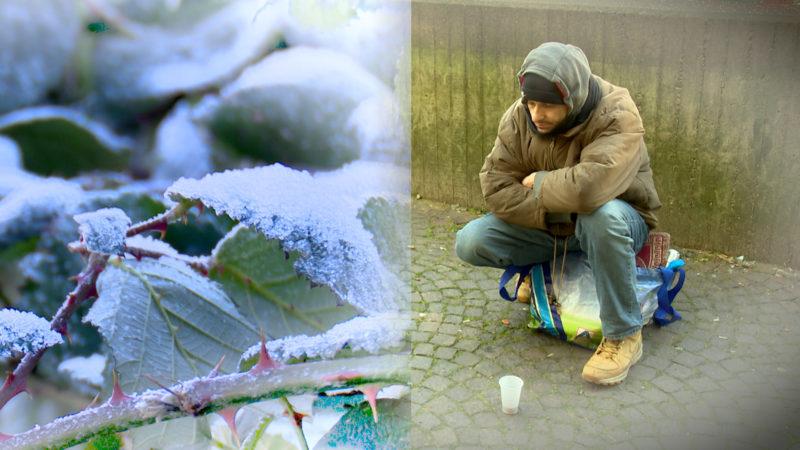 Kältewelle in NRW (Foto: SAT.1 NRW)
