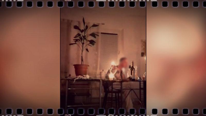 Mutmaßlicher Mörder filmt eigene Verhaftung (Foto: SAT.1 NRW)