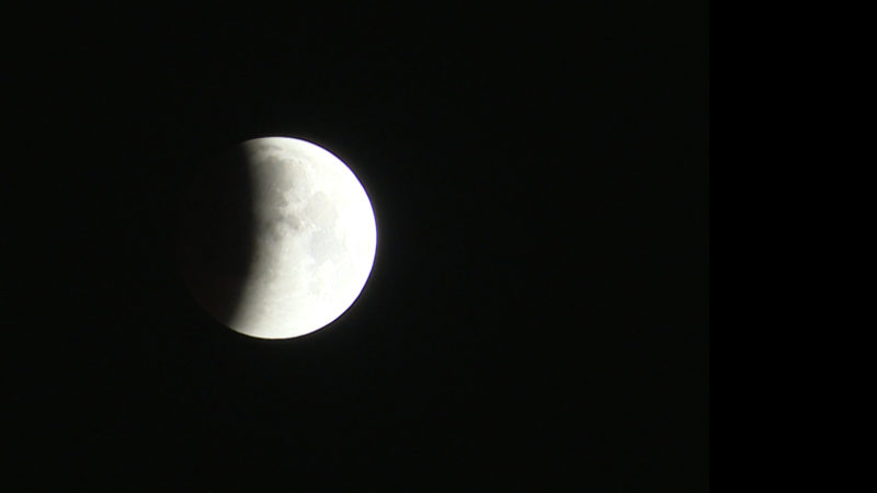 Naturspektakel: Mondfinsternis und Blutmond (Foto: SAT.1 NRW)
