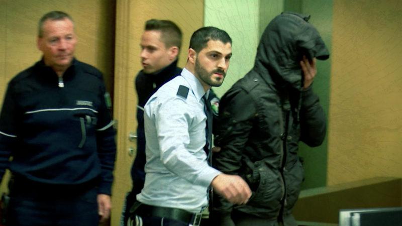 Prozessbeginn gegen mutmaßlichen Kindermörder (Foto: SAT.1 NRW)