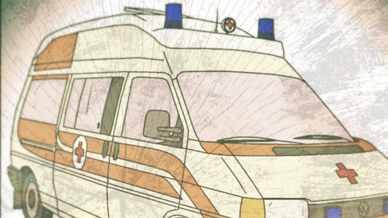 Unbekannter sabotiert Rettungswagen (Foto: SAT.1 NRW)