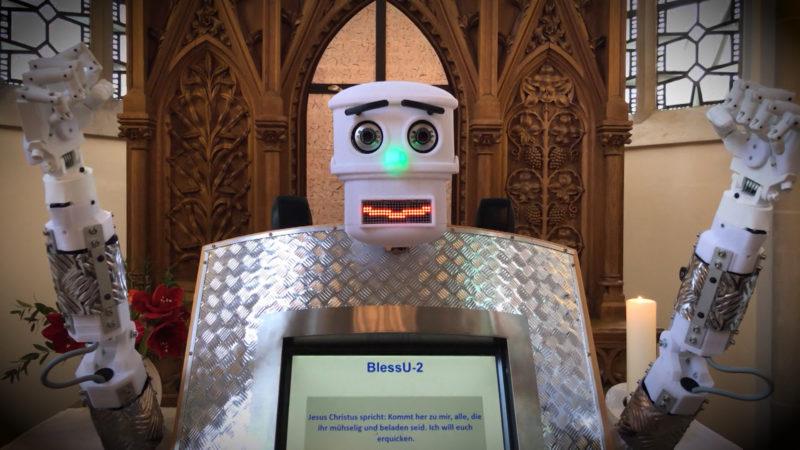 Segen durch Roboter (Foto: SAT.1 NRW)