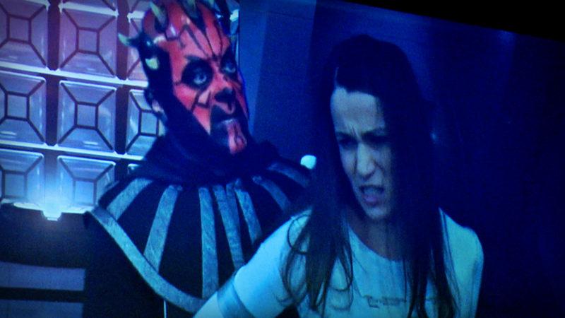 Zauberflöte goes Star Wars (Foto: SAT.1 NRW)