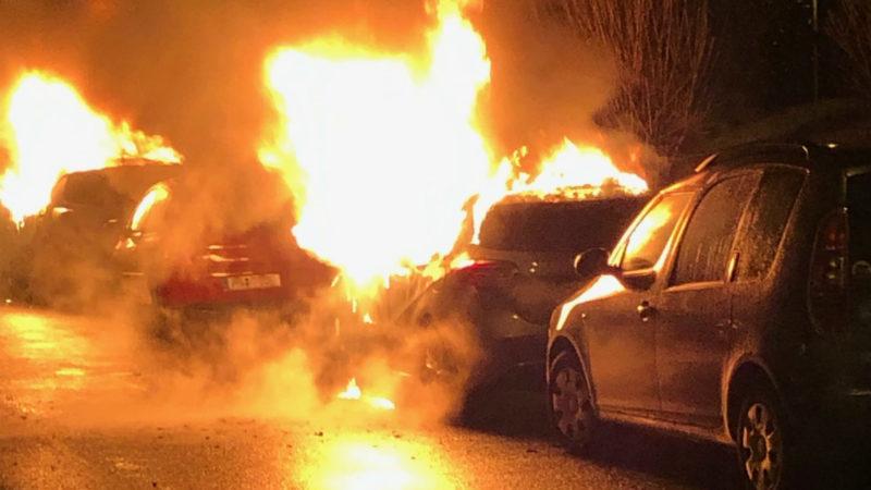 Mönchengladbach fürchtet Feuerteufel (Foto: SAT.1 NRW)