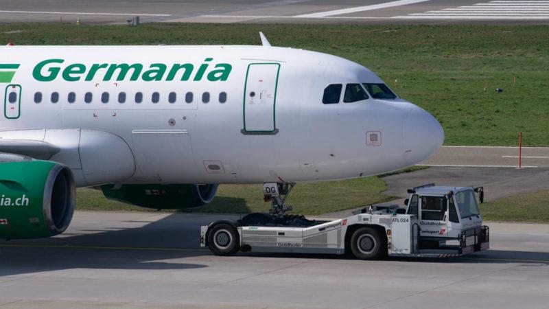 Fluggesellschaft Germania ist insolvent (Foto: SAT.1 NRW)