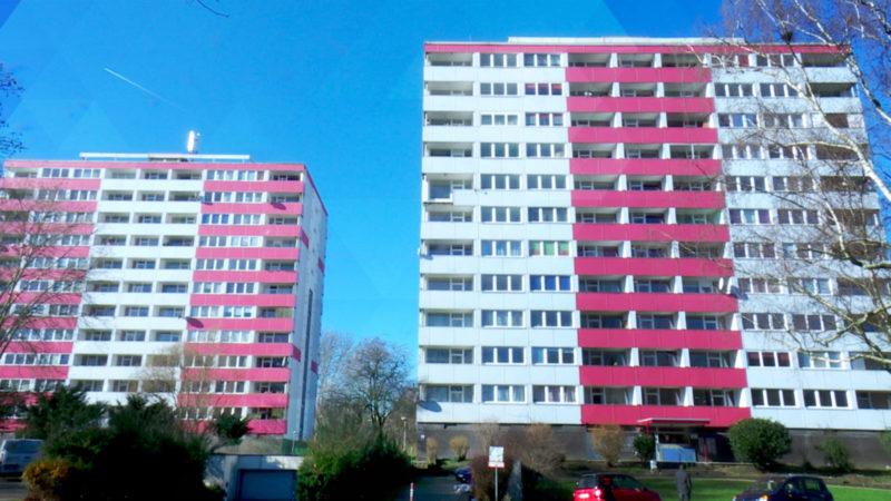 Bewohner müssen Wohnungen räumen (Foto: SAT.1 NRW)