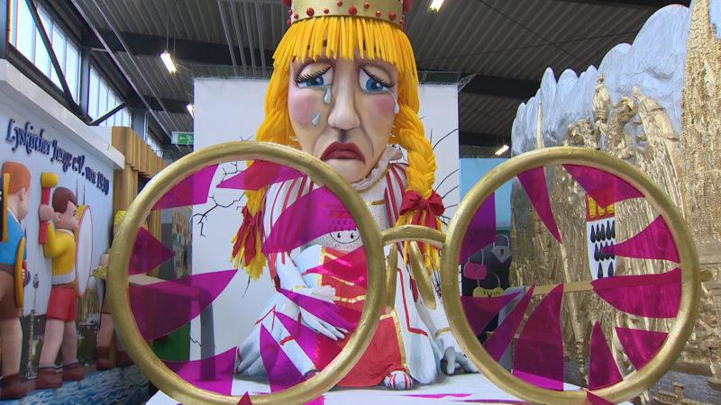Vorstellung der Karnevalswagen in Köln (Foto: SAT.1 NRW)