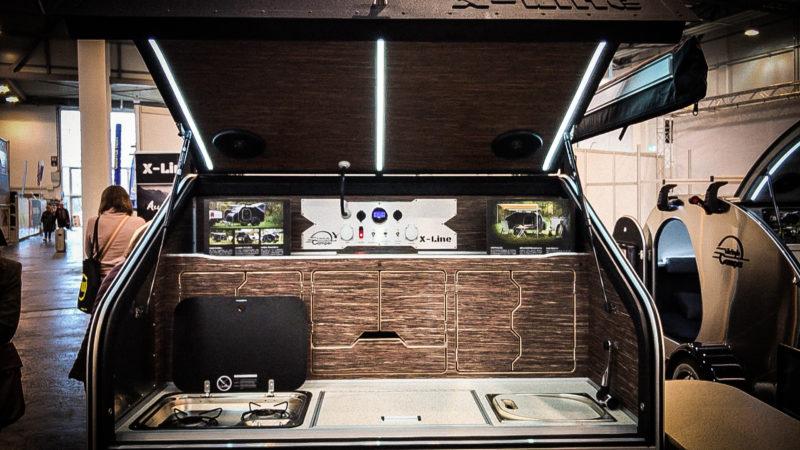 Eine Küche für den Kofferraum (Foto: SAT.1 NRW)