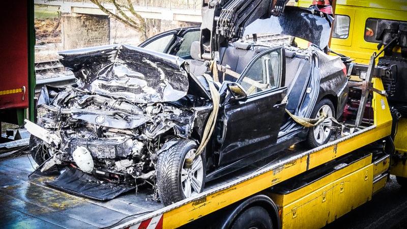 Tödlicher Unfall im Sauerland (Foto: SAT.1 NRW)