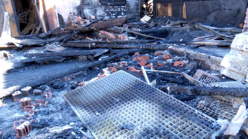 Feuer im Taubenschlag (Foto: SAT.1 NRW)