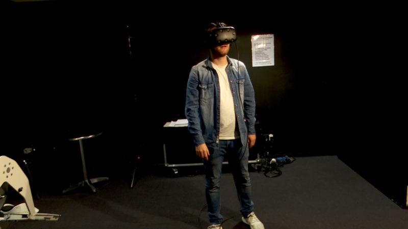 Neue VR-Technik im Filmmuseum Düsseldorf (Foto: SAT.1 NRW)