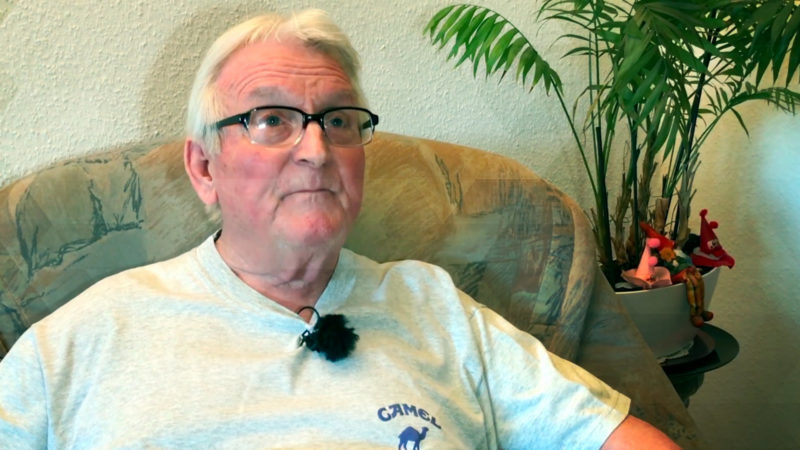 Rentner kämpft für Zahnersatz (Foto: SAT.1 NRW)