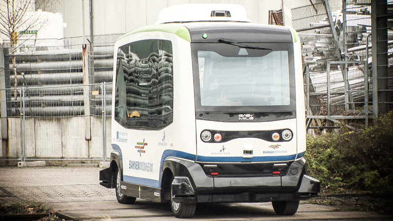 Bus ohne Fahrer (Foto: SAT.1 NRW)