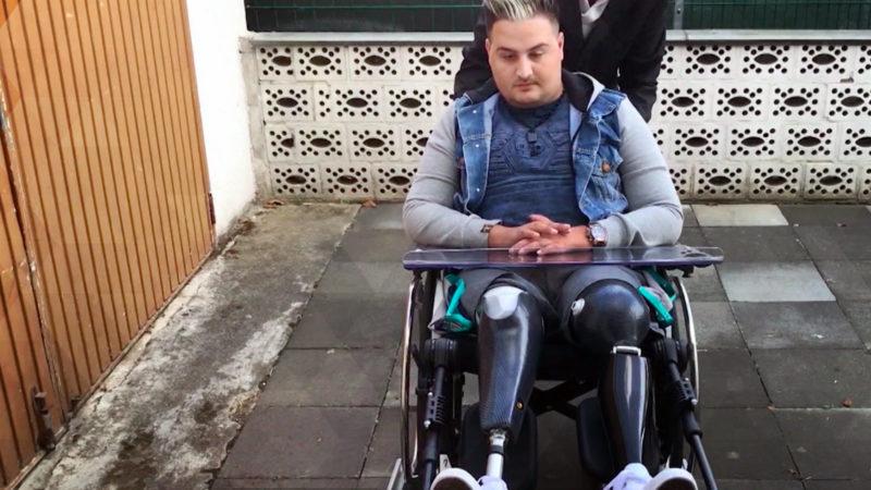 Fußballtalent verliert Beine (Foto: SAT.1 NRW)
