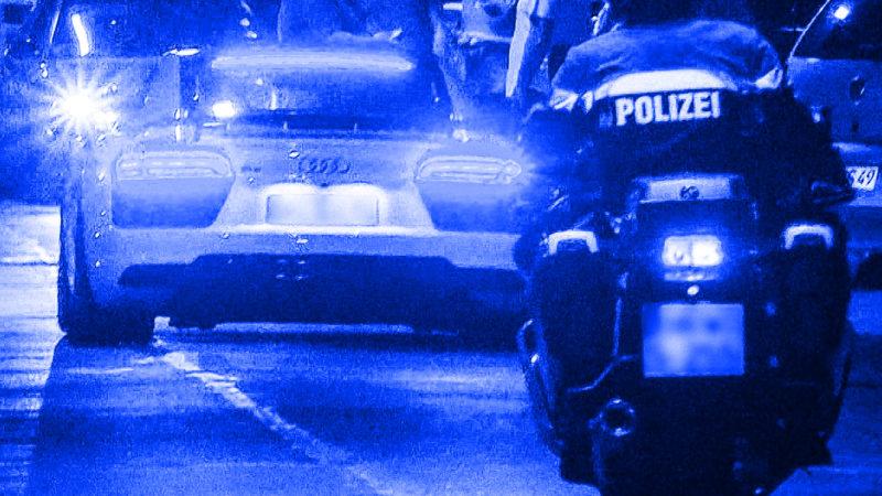 Polizei verteilt Hochzeits-Verhaltensregeln (Foto: SAT.1 NRW)
