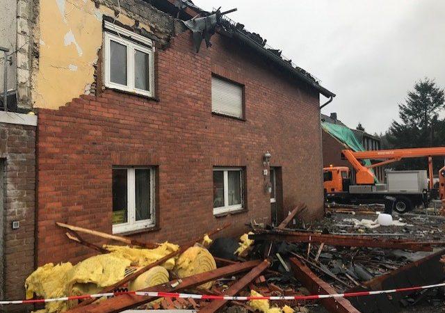Aufräumarbeiten nach Tornado (Foto: SAT.1 NRW)