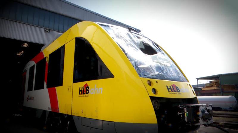 Anschlag auf Regionalzug (Foto: SAT.1 NRW)
