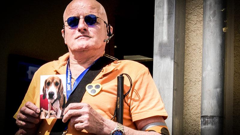 Blindenhund geklaut (Foto: SAT.1 NRW)