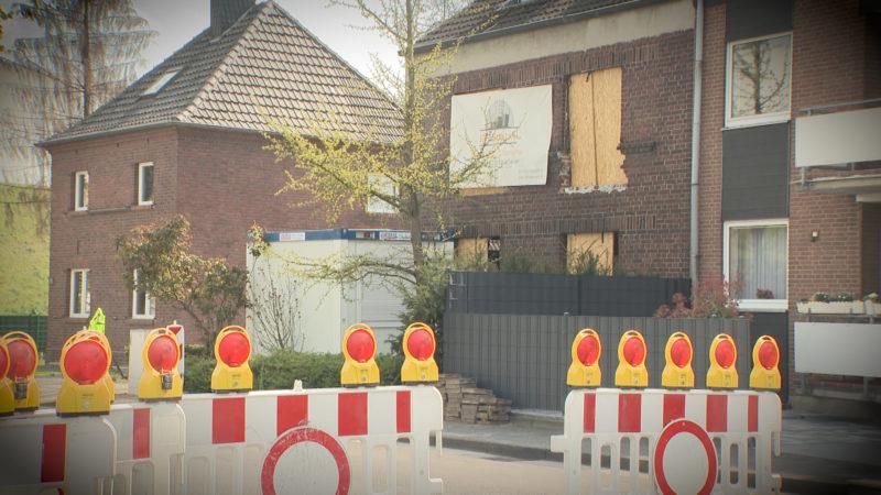 Haus kurz vor dem Einsturz (Foto: SAT.1 NRW)