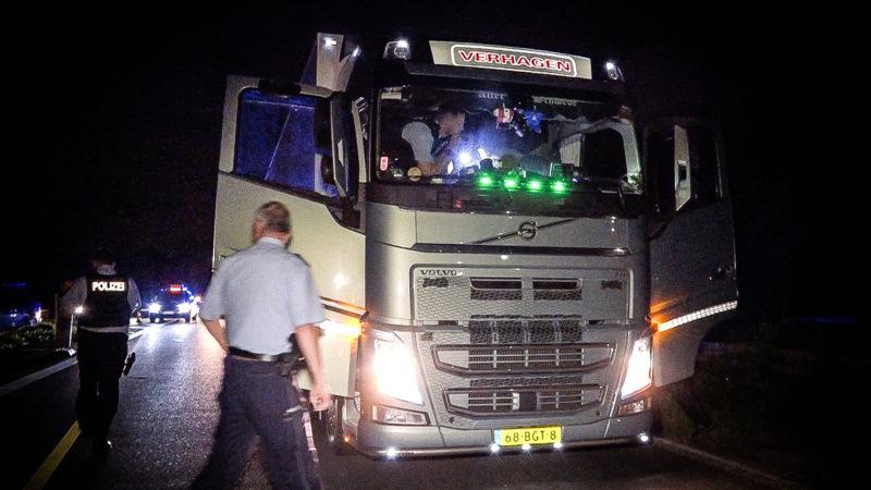 Blutiger Verkehrsstreit (Foto: SAT.1 NRW)