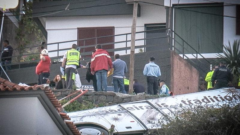 Busunglück Madeira: Viele Opfer aus NRW (Foto: SAT.1 NRW)