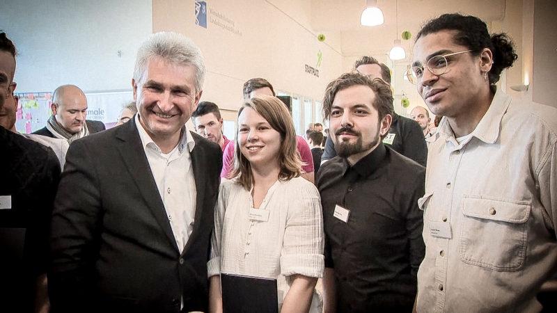 NRW unterstützt Gründer (Foto: SAT.1 NRW)