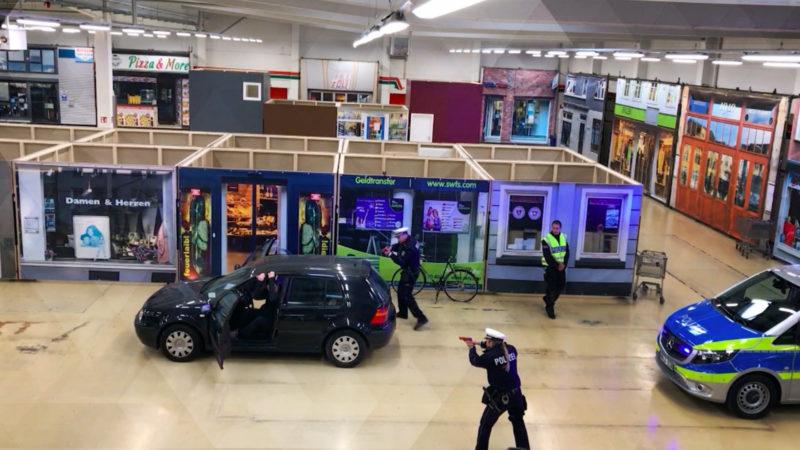 Anti-Terrorzentrum statt Baumarkt (Foto: SAT.1 NRW)