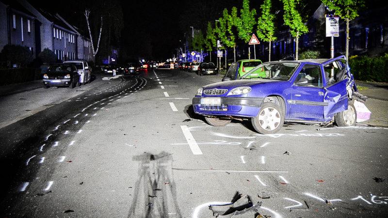 Raseropfer tot (Foto: SAT.1 NRW)