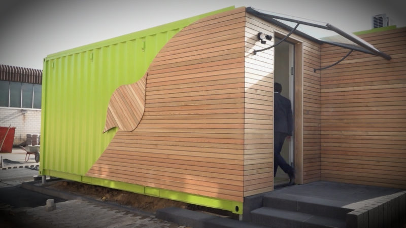 Seecontainer als Häuser (Foto: SAT.1 NRW)