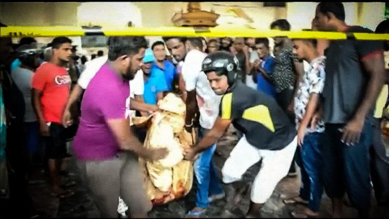 Terror in Sri Lanka (Foto: SAT.1 NRW)