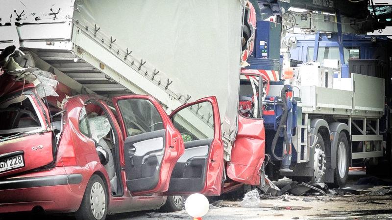 Tödlicher Unfall auf A2 (Foto: SAT.1 NRW)