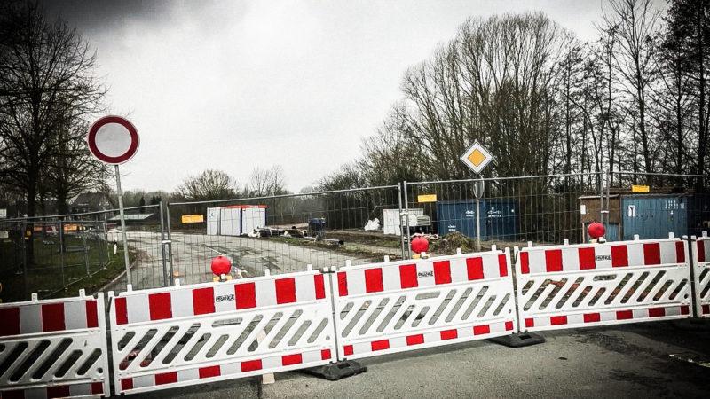 Waltroper Brückenbaustelle wird nicht fertig (Foto: SAT.1 NRW)