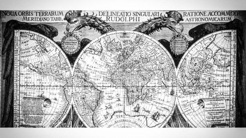 Historische Weltkarte gestohlen (Foto: SAT.1 NRW)