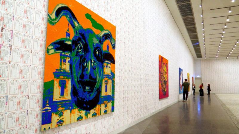 Ai Wei Wei-Ausstellung in Düsseldorf (Foto: SAT.1 NRW)
