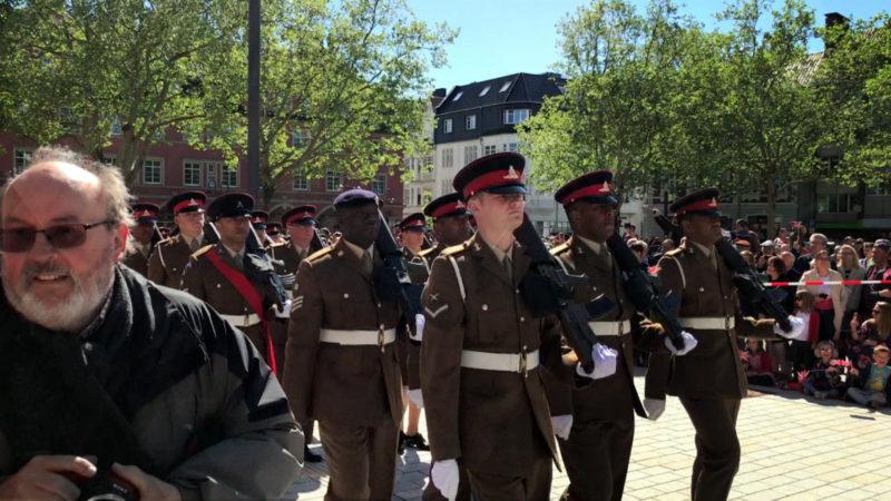 Britische Streitkräfte ziehen ab (Foto: SAT.1 NRW)