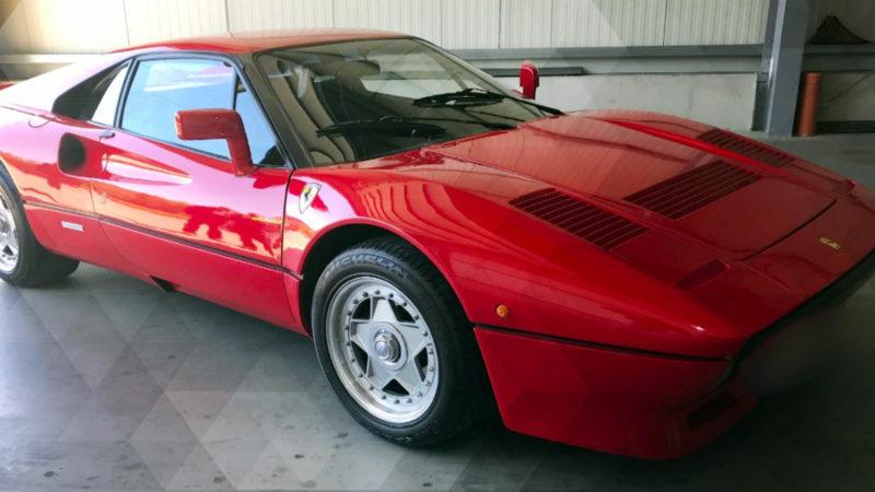 Geklauter Ferrari wieder da (Foto: SAT.1 NRW)