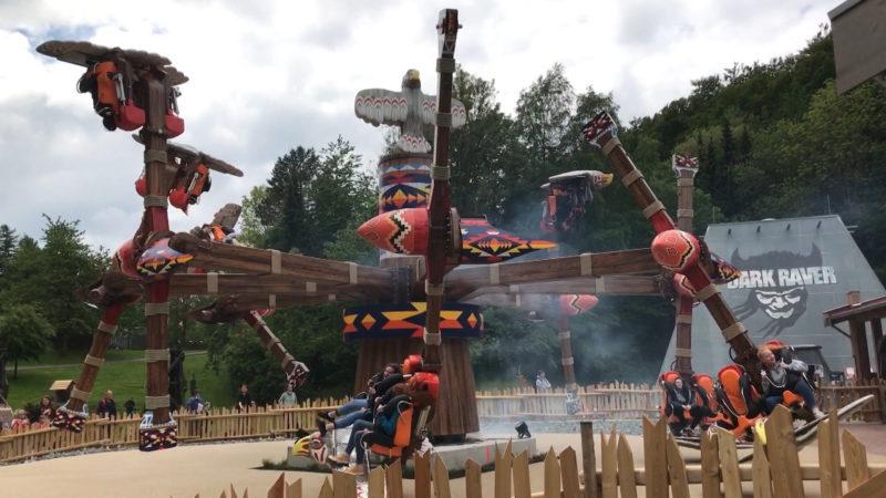Neue Attraktion im Fort Fun (Foto: SAT.1 NRW)