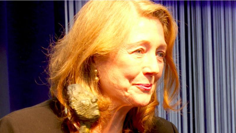 NRW-Innovationspreis für Helga Rübsamen-Schaeff (Foto: SAT.1 NRW)