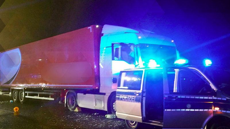 Lkw-Fahrer verhindern Katastrophe (Foto: SAT.1 NRW)