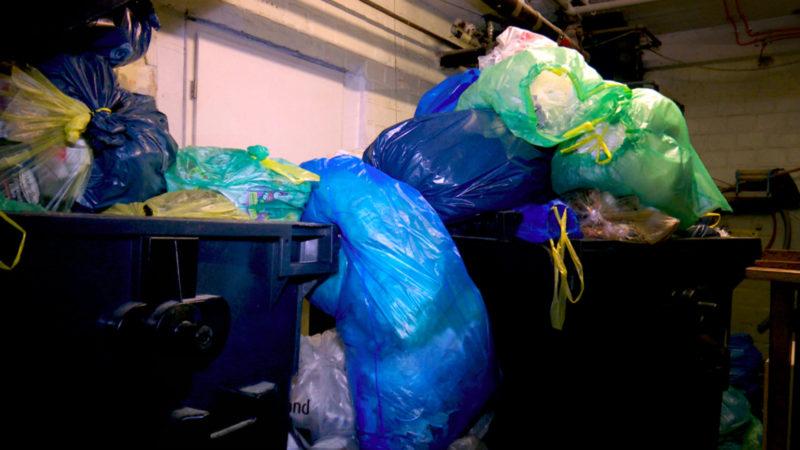 Kampf gegen Plastik-Müll (Foto: SAT.1 NRW)