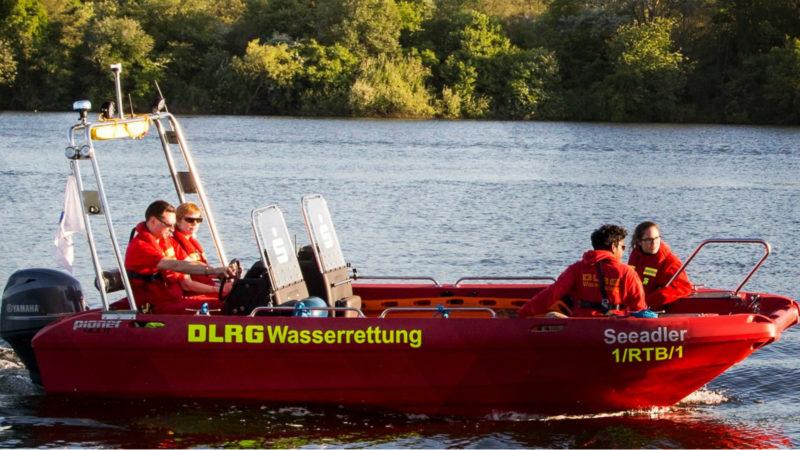 Unbekannte klauen DLRG-Motor (Foto: SAT.1 NRW)