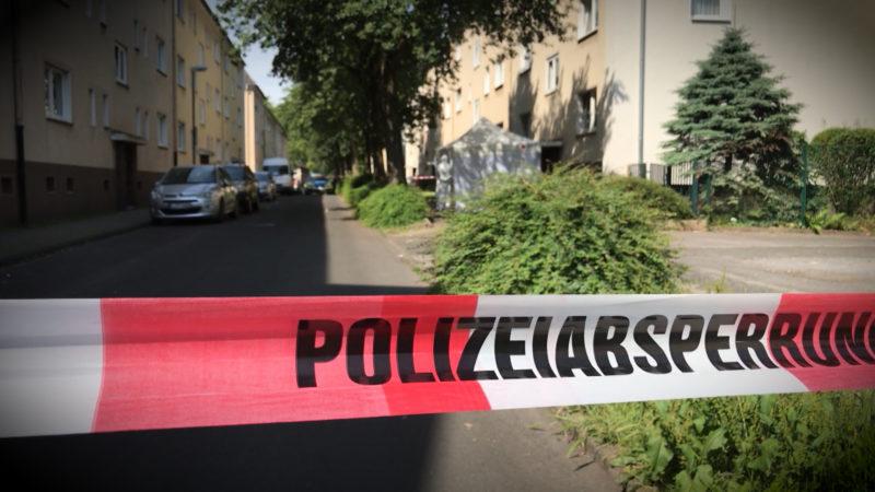 MANN VON POLIZEI ERSCHOSSEN (Foto: SAT.1 NRW)