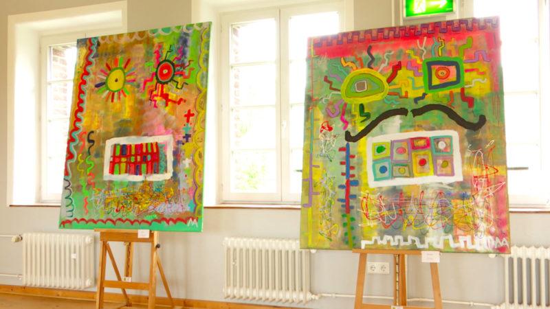 Kleiner Künstler ganz groß (Foto: SAT.1 NRW)