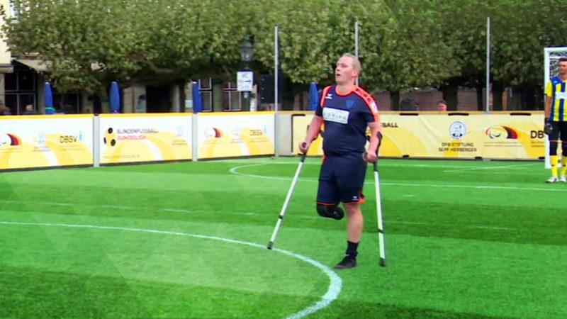 Sportler lässt sich freiwillig Bein amputieren (Foto: SAT.1 NRW)