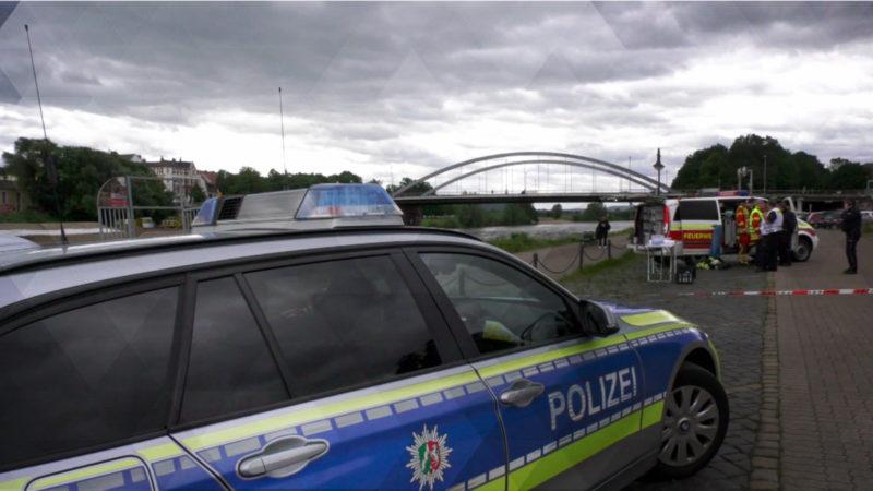 Schüler ertrinkt in der Weser (Foto: SAT.1 NRW)