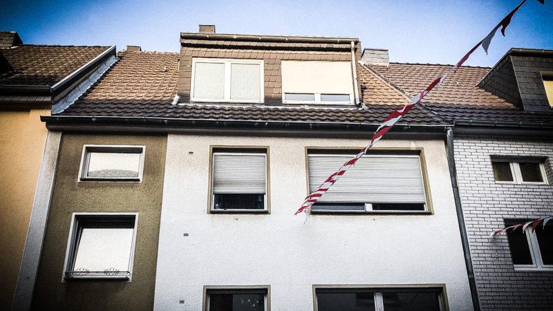 Explosion in Wohnung (Foto: SAT.1 NRW)