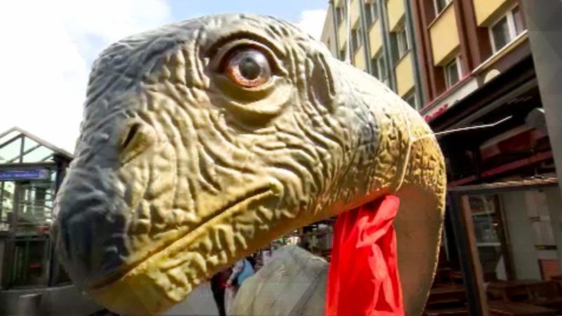Dinosaurier erobern Bochum (Foto: SAT.1 NRW)