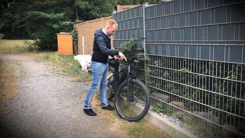 E-BIKES STATT DIENSTWAGEN (Foto: SAT.1 NRW)